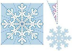 Снежинки из бумаги | Детвора Онлайн