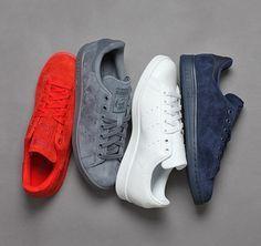 adidas Originals Stan Smith Tonal Pack - The Drop Date Adidas Shoes Women, Nike Women, Men's Shoes, Nike Shoes, Shoes 2016, Fashion Shoes, Mens Fashion, Fashion News, Baskets