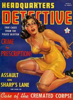 Pulp Fiction Comics, Pulp Fiction Book, Pin Ups Vintage, Pulp Magazine, Magazine Covers, Magazine Art, Nylons, Adventure Magazine, Sci Fi Comics