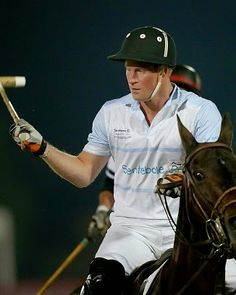 Royal Family Around the World: Sentebale Polo Cup Presented By Royal Salute World Polo In Abu Dhabi With Prince Harry - Polo on November 20, 2014