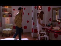 Lovely red desk Pasion Prohibida (soap opera Set)