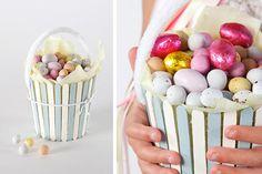 DIY Easter : DIY Pop Stick Baskets