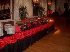 Image result for red and black head table | Weddings | Pinterest ...