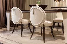 Noir Collection www.turri.it Luxury dining room furniture
