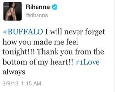 Rihanna tweets Never Forget, You Make Me, Diamonds, Feelings, Diamond