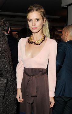"Laura Bailey at the Vogue on Designers launch party in London. ""This Week's Best Dressed"" fashionologie.com #2231"
