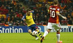 Aaron Ramsey rounded off Arsenal's group stage with two goals, the second a thunderous 35-yard shot in a 4-1 win at Galatasaray