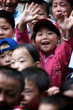 Los niños de Corea del Norte