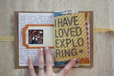 Make mini-books for each holiday or vacation, its cheaper than scrapbooking if you use things that are from those events, such as envelopes, wrapping paper, plane tickets, and whatever else you have. And each one is unique in shape, size, texture, and colours..