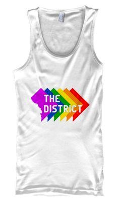 The District Washington DC LGBTQ Tank Top
