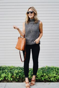 Raen Remmy sunglasses, Natalie Borton necklace   Madewell bag