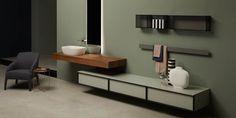 #muebles para #baños  Bespoke – #antoniolupi  #mueblesdediseño