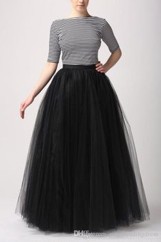 5642171b9bb 2019 Fashion Simple Women Skirts All Colors 5 Layer Floor Length 2015 Adult  Long Tutu Tulle Skirt A Line Plus Size Long Skirts From Yateweddingdress