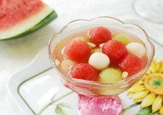 Subak Hwachae / Korean Watermelon Punch Recipe (Korean Bapsang)