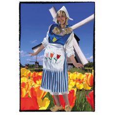 Disfraz de Holandesa chica Incluye  Falda 7fca02e6d0e68