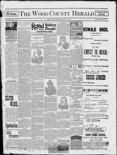 The Wood County Herald - Google News Archive Search
