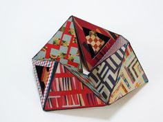 The Quilts of Gee's Bend Vol .2 by Carolyn Shattuck, Flexagon Book, printed on Epson and Strathmore paper, 3.5 x 8.5 x 8.5 inches, Edition of 25. $200