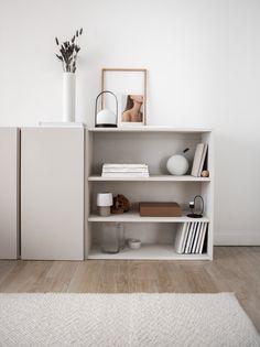 Ikea Ivar Cabinet, Ikea Cabinets, Ikea Sideboard Hack, Kitchen Sideboard, Kitchen Cabinets, Ikea Interior, Interior Styling, Interior Design, Furniture Projects