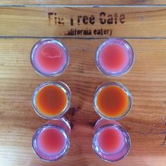 Kick those sniffles goodbye with a flight of our #AntioxidantShots  Photo via Yelp user Sid A.