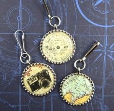 Bon Voyage Zipper Pulls by Marie Browning « Tombow USA – Blog