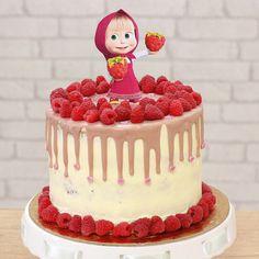 Birthday Cake, Cakes, Pink, Food, Cake Makers, Birthday Cakes, Kuchen, Essen, Cake