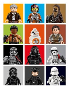Lego The Force Awakens by dreymont