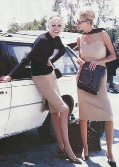 Krissy & Niki Taylor, Vogue 1995