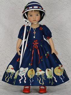 "Bonnets for 13"" Dianna Effner Little Darling Studio Dolls by Melanie | eBay. Ends 10/6/14."
