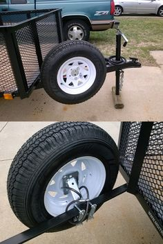 While pulling your trailer around you want to be prepared! Accessories like the Fulton Hi-Mount Spare Tire Carrier ensures for a safe road trip! Follow the link for more photos, reviews and a DIY 'how to' installation video!