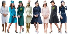 Matching Fascinators Kate Middleton Dress, Kate Middleton Style, Duchess Kate, Duchess Of Cambridge, Work Appropriate Halloween Costumes, Tailored Fashion, Kardashian Style, Royal Fashion, Her Style