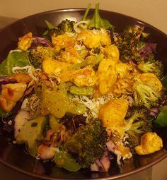 Crazy People, Turmeric, Cauliflower, Salads, Coconut, Restaurant, Vegetables, Recipes, Food