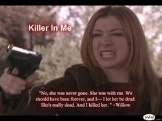 """Willow accepts Tara's death 