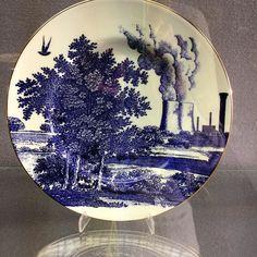 Subversive ceramics by Paul Scott Cumbrian Blue(s) Confected Borrowed and Blue…