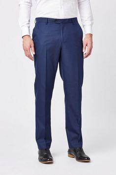 """Next Strukturierter Anzug: Hose für 56,00€. Materialmix mit Viskose, Ohne Bundfalte, Geknöpfte Gesäßtaschen, Get the """"Next"""" Look, Nur chemisch reinigen bei OTTO"""