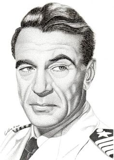 Pencil Drawing of actor Gary Cooper