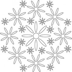 Flower Mandala Coloring Pages - Bing images