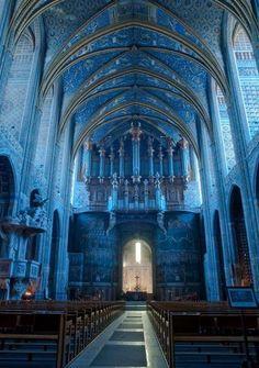 Cathédrale d'Albi, France.