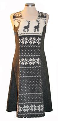 VINTAGE - Reindeer , Norwegian dress.