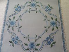 Hardanger in Blue