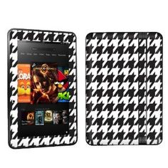 Kindle fire cover stand in plaid coated cotton by studiocherie amazon amazon kindle fire hd 7 inch tablet decal vinyl skin white publicscrutiny Image collections