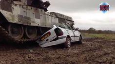 Cùng Xem !!! Những cỗ máy khổng lồ sẽ phá hủy chiếc xe hơi trong bao lâu