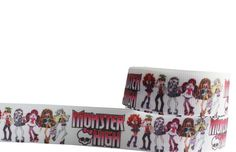 Monster High  Printed Grosgrain Ribbon by Universalideas on Etsy, $1.60 https://www.etsy.com/listing/165619347/monster-high-printed-grosgrain-ribbon