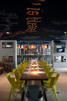 The L'Hotel Mama Shelter Marseille located in the heart of beautiful Marseille, France is a bold, visionary design by Philippe Starck.
