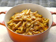 I was thinking we could make this sauce and MAKE OUR OWN PASTA! Basic Parmesan Pomodoro recipe from Giada De Laurentiis via Food Network Giada De Laurentiis, Giada Recipes, Pasta Recipes, Dinner Recipes, Cooking Recipes, Giada In Italy Recipes, Vegetarian Recipes, Cooking Corn, Italian Pasta