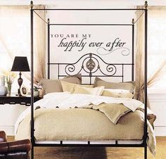 You Are My Happily Ever After | Wall Decal for Bedroom from Trading Phrases