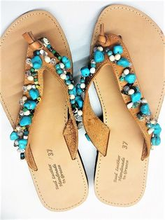 33614275ae84 36 Best Turquoise Sandals images
