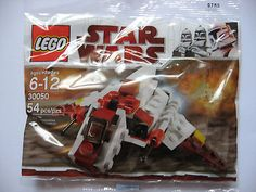 LEGO 30050 Star Wars Mini Republic Attack Shuttle Kit Blocks Toy Minifigures  54 Pieces  Set 30050  Polybag is new and sealed.  Perfect for any Imperial collection!!!  Shipping Policies  We ship to the Lower 48 States only (Does NOT include Haw...