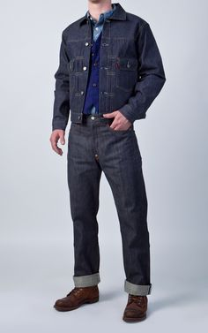 Levi's® Vintage Clothing 1953 Type II Rigid