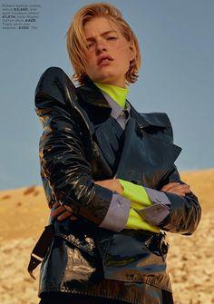 Photography: David Gomez-Maestre. Styled by: April Hughes. Hair:Nikki Providence.Makeup: Kali Kennedy. Model:Louise Parker.