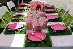 Classic Fairy or garden party Birthday Decor